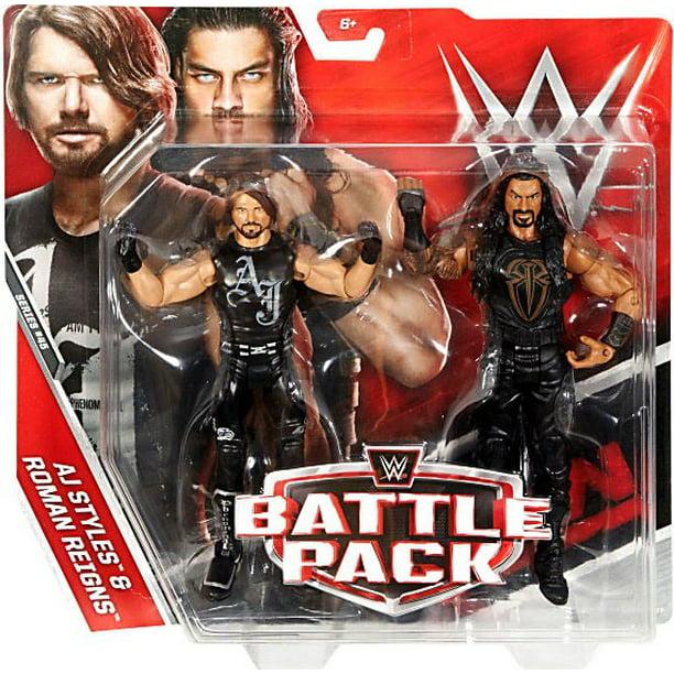 WWE Superstar Wrestling Roman Reigns Figurine Toy