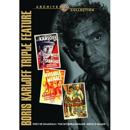 Boris Karloff Triple Feature (DVD)](Boris Karloff Halloween)