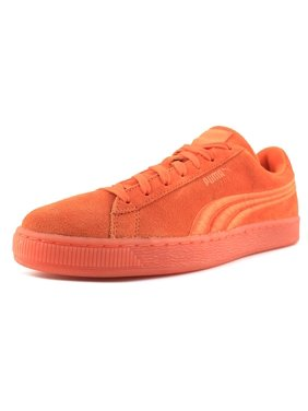 66d8a5e4b6bd Product Image Puma Suede Classic Badge Iced Men Round Toe Suede Orange  Sneakers