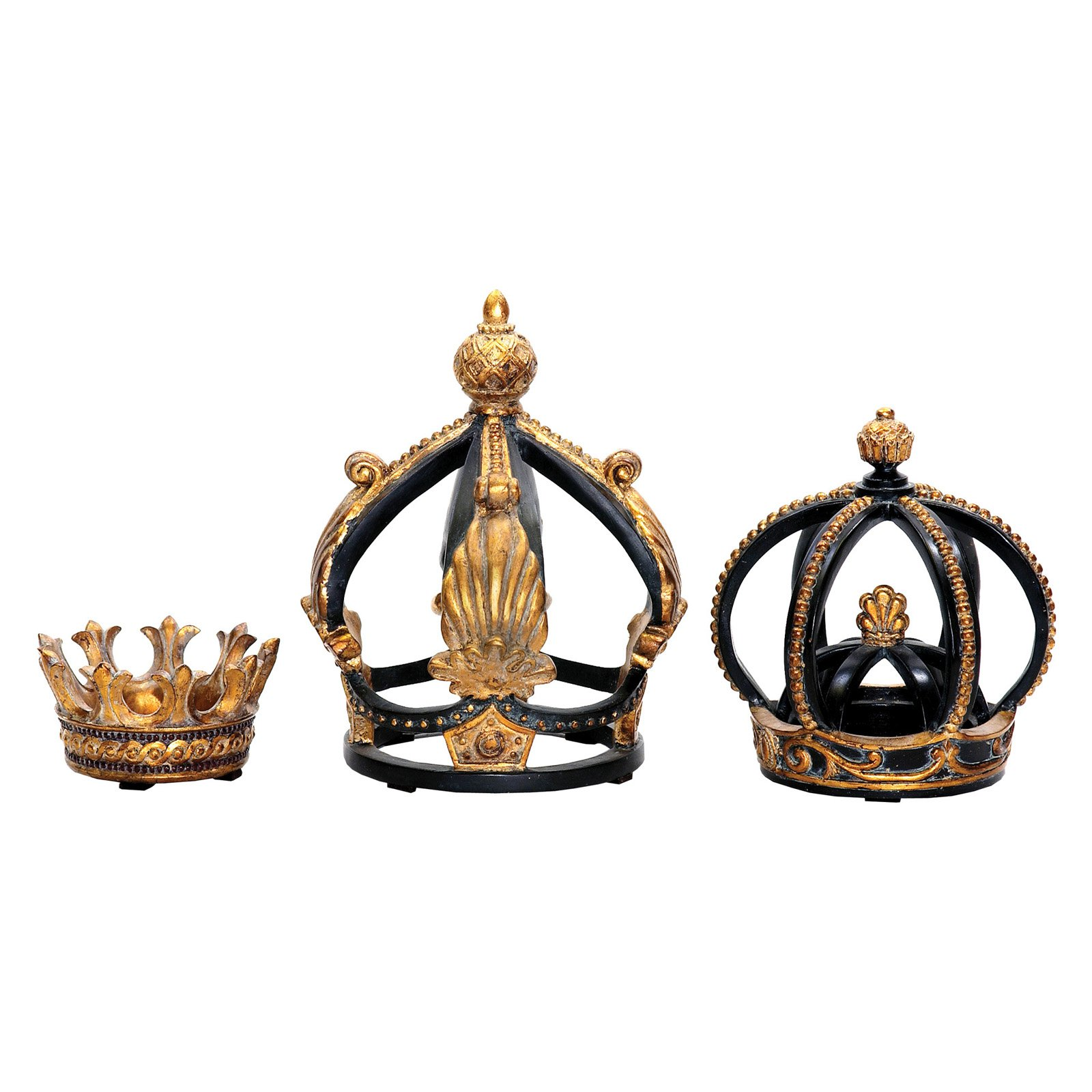 Sterling 2-8H in. Crowns - Set of 3