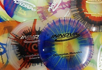 Champion I-dyed Monarch Disc Golf Disc (Assorted Colors) (One Disc), Speed: 10 Glide: 5... by