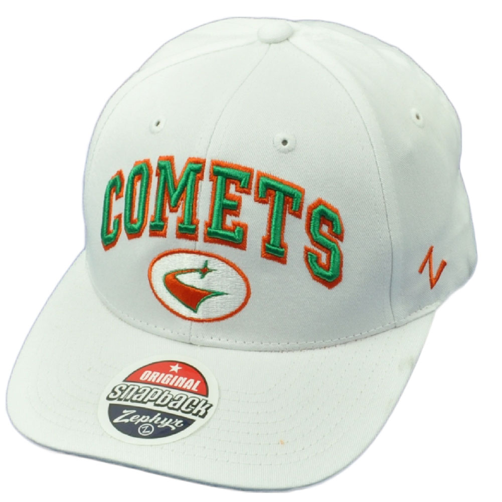 ncaa zephyr texas dallas ut comets white snapback hat cap curved bill adjustable walmart com walmart com ncaa zephyr texas dallas ut comets white snapback hat cap curved bill adjustable walmart com