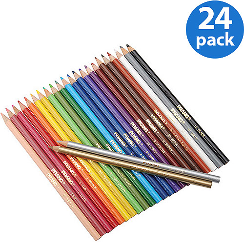 Prang Colored Pencils, 24-Pack