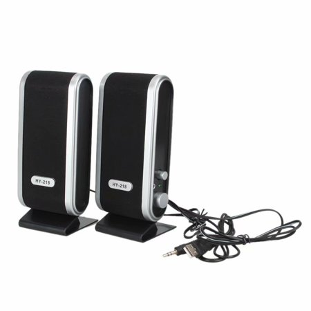 Clearance!6W USB Power Laptop Computer Speaker with Ear Jack