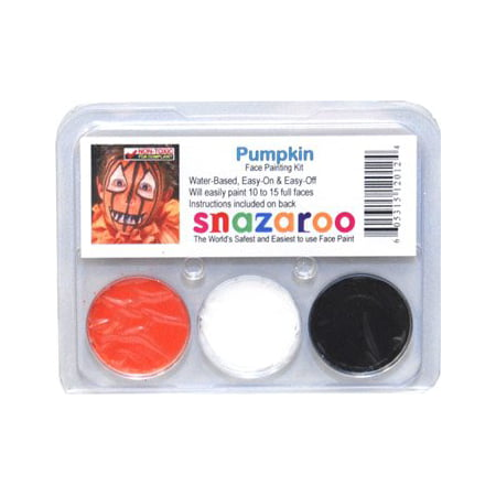 PUMPKIN THEME PACK Snazaroo Face Paint Theme Set, By Football Fanatics Ship from US](Football Face Paint)