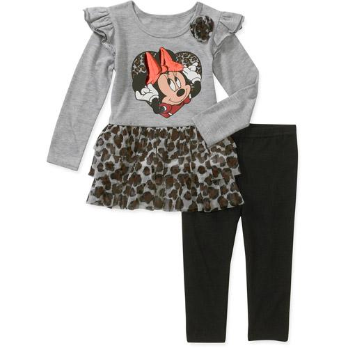 Baby Girls' 2 Piece Minnie Animal