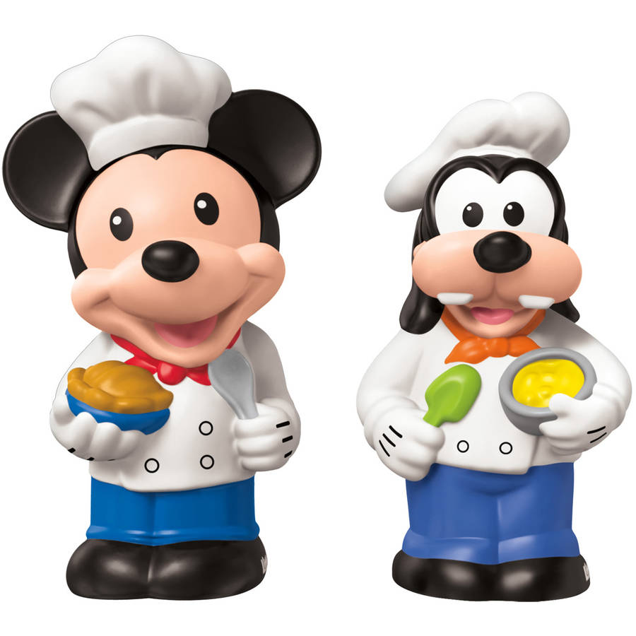 Magic of Disney Mickey and Goofy Buddy Pack By Little People
