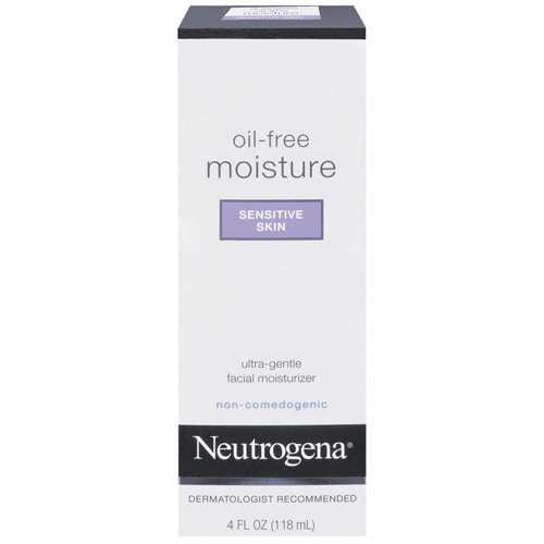 Neutrogena Sensitive Skin Oil Free Moisture, 4 fl oz