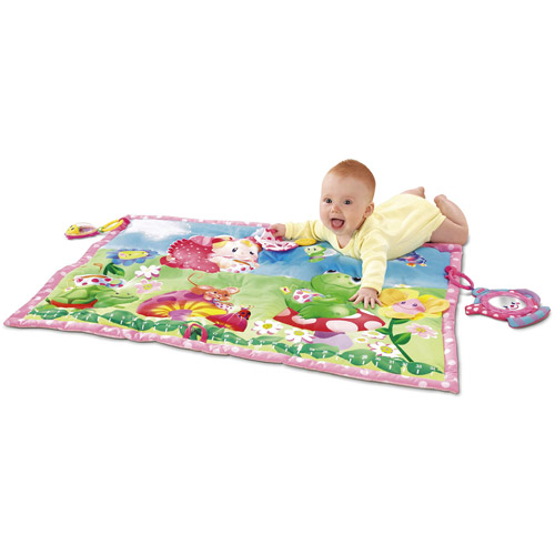 Fisher-Price - Princess Tummy Time Tea Party Play Quilt