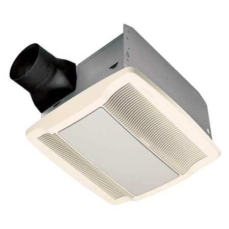 Broan-Nutone QTXE110SFLT Ultra Silent Humidity Sensing Bathroom Fan / Light / Night-Light - ENERGY STAR