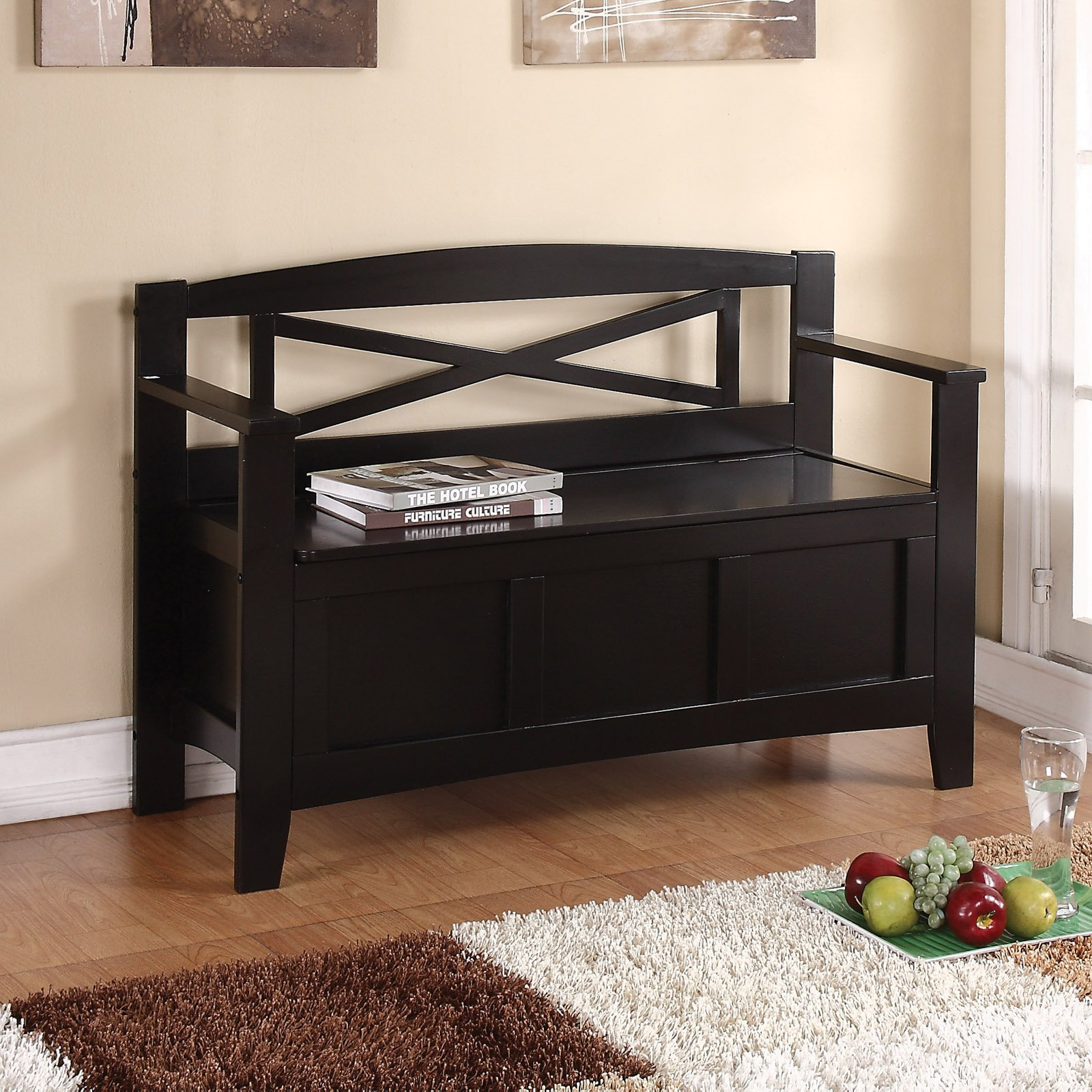 OSP Designs Metro Modern Entry Way Bench