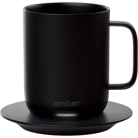 Ember - 10 oz. Temperature Controlled Ceramic Coffee Mug - -
