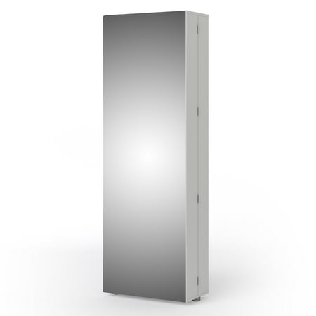 Bright Shoe Cabinet with Mirror Door (Shoes Cabinet Mirror)