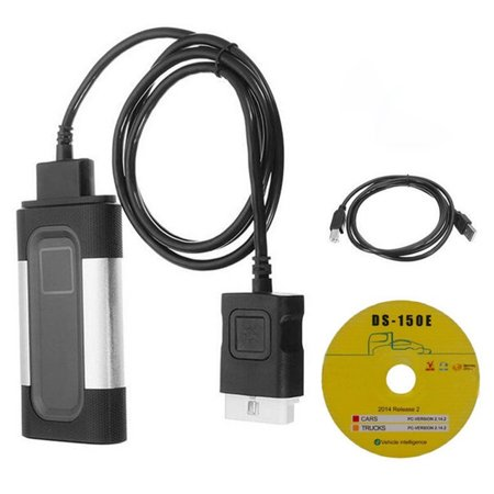 Auto Diagnostic Tool, Bluetooth TCS CDP+ Plus Autocom Car Truck Auto OBD2 OBDII Diagnostic (Best Automotive Scan Tool Laptop)