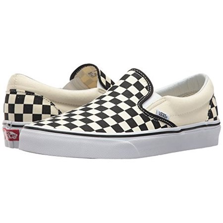 Vans Classic Checkerboard (vans classic slip on black off white checkerboard vn-0eyebww mens us 9.5 )