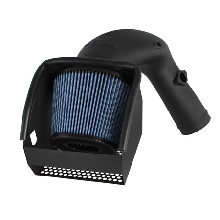 AFE/Advance Flow Engineering 54-32412 Cold Air Intake Magnum Force Stage 2 Black Molded Plastic;  Blue Pro 5 R Filter; With Heat Shield - image 2 of 2