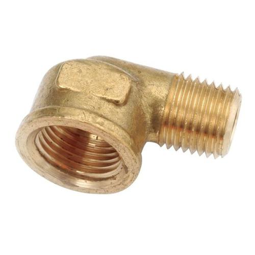 "GRAINGER APPROVED 1/2"" FNPT x 3/8"" MNPT Brass Reducing Street Elbow, 706228-0806"