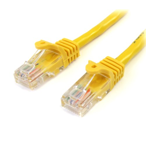 Startech.com Category 5e Utp Patch Cable - 1 X Rj-45 Male - 1 X Rj-45 Male - 15ft - Yellow (45patch15yl)