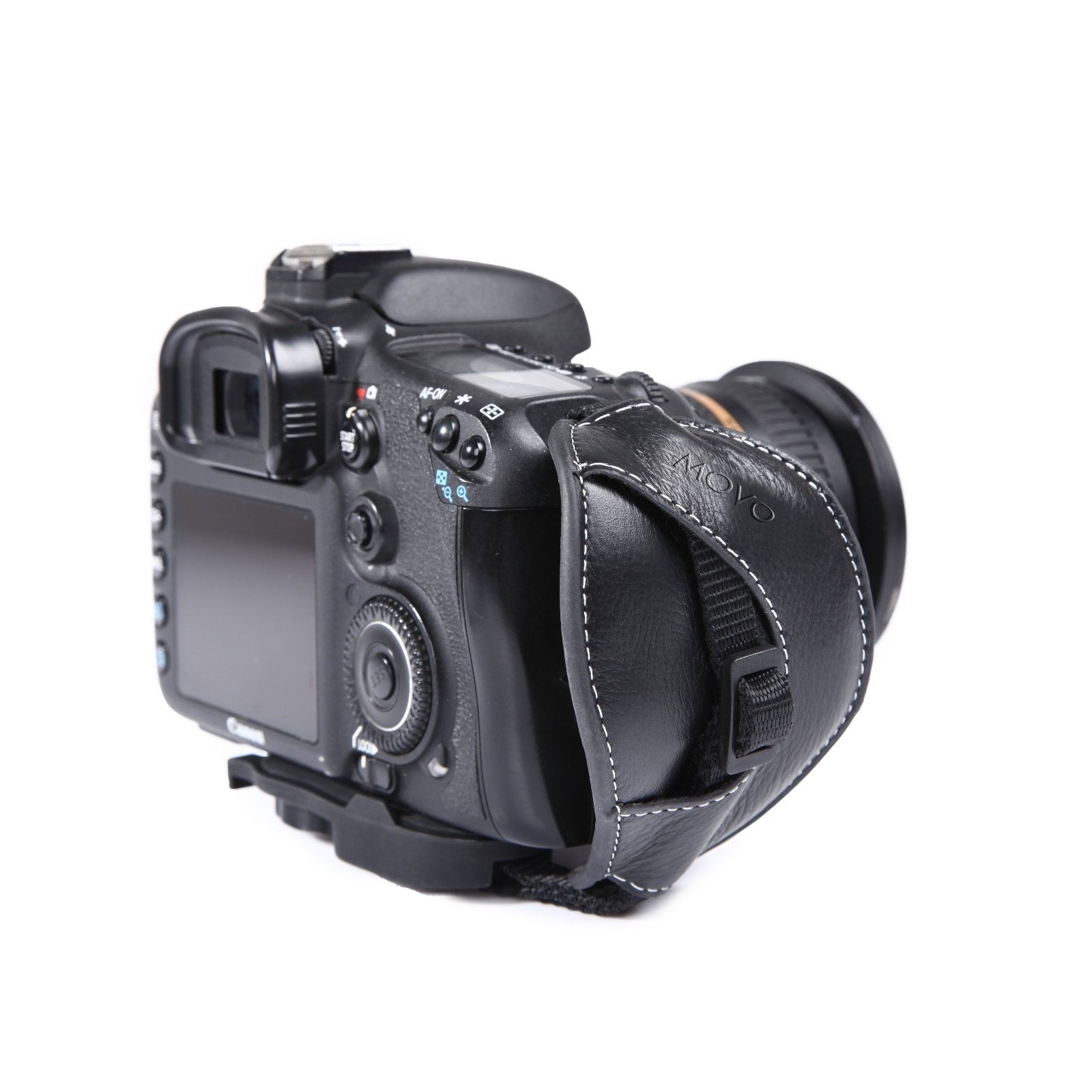 Movo Photo HSG-6 Premium Alternative Leather Padded Secure Grip Strap for DSLR Cameras