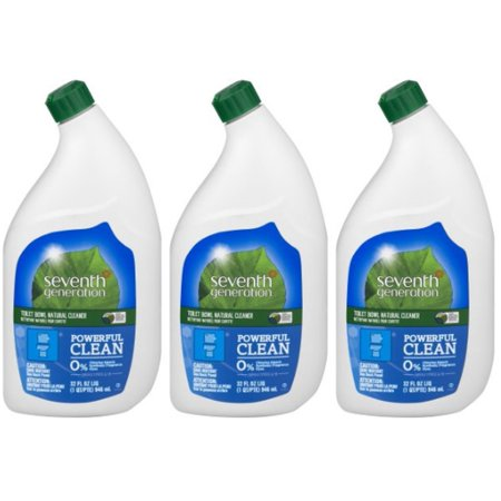 (3 Pack) Seventh Generation Toilet Bowl Cleaner Emerald Cypress & Fir 32 oz