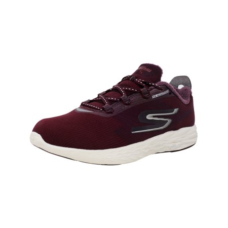 Skechers Women's Go Run 5 - Therm 360 Burgundy Ankle-High Running Shoe