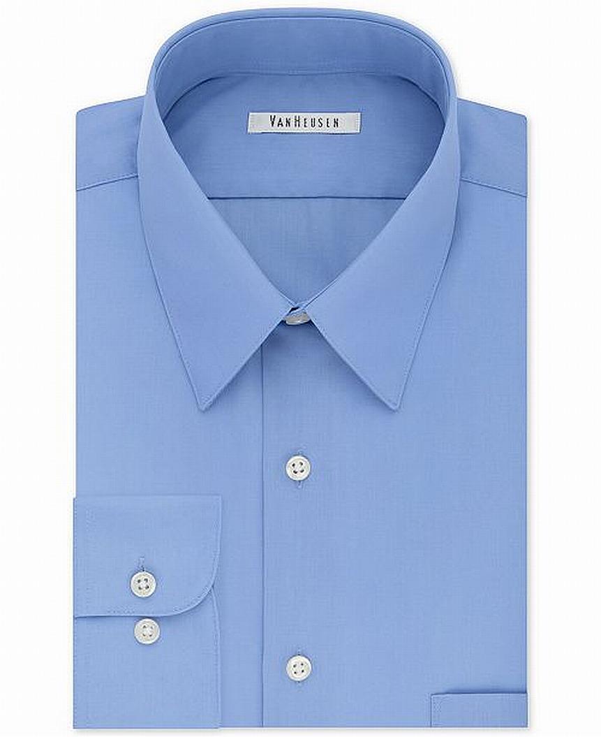 Van Heusen Dress Shirts Van Heusen Mens Wrinkle Free Regular Fit