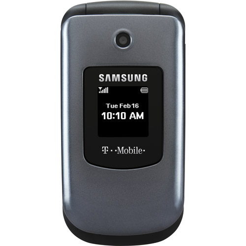 TMobile Prepaid Samsung T139 Flip Phone with Bluetooth and Camera
