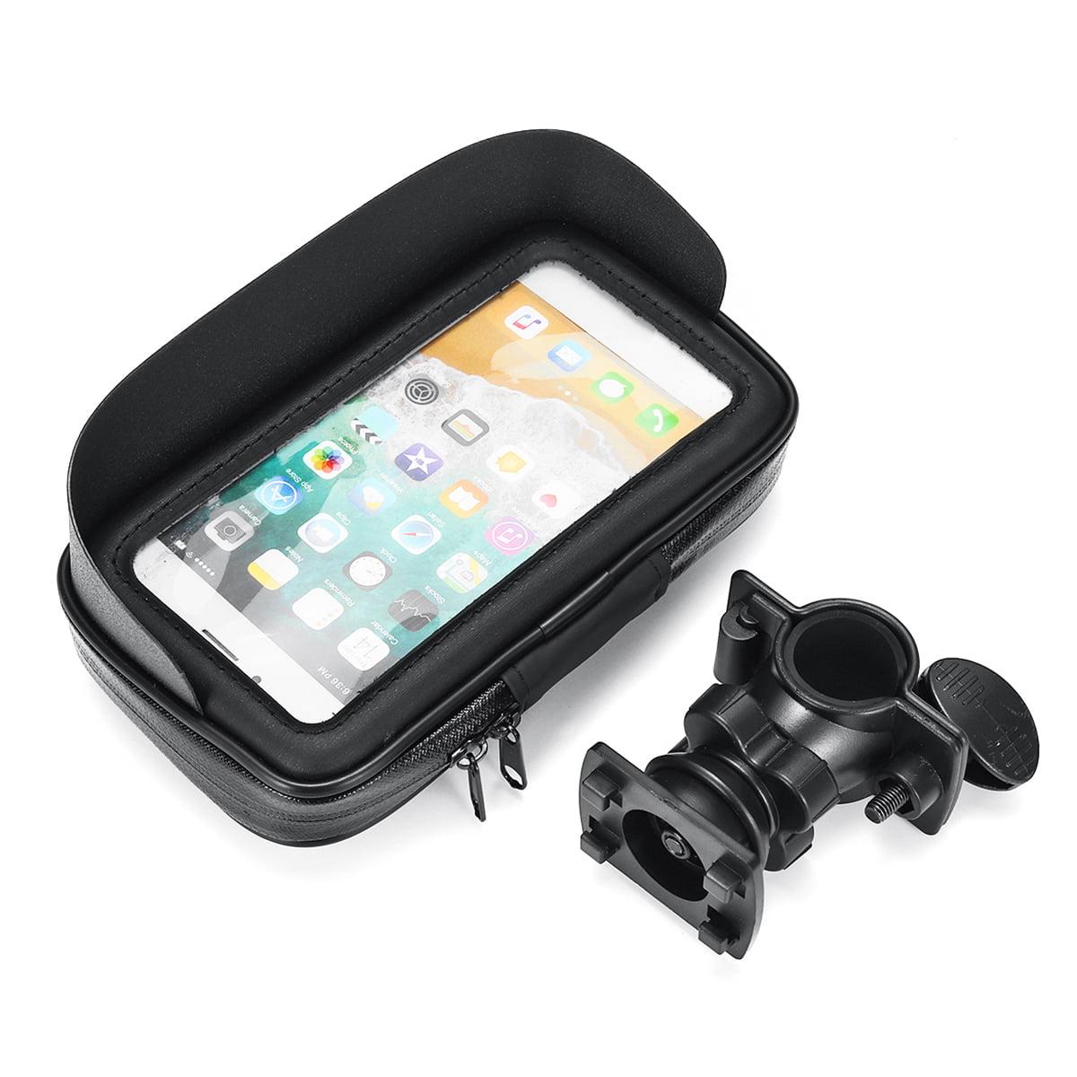 Waterproof Motorcycle Bike Bicycle Handlebar Mount Phone GPS Holder Case Bag