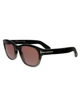 c676fda593576 Product Image Tom Ford FT0530 56S O keefe Dark Havana Grey Rectangular  Sunglasses