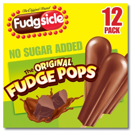Popsicle Fudgsicle No Sugar Added Fudge