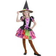 Patchwork Witch Child Halloween Costume
