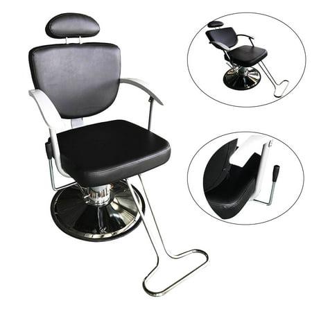 Phenomenal Zimtown Hydraulic Reclining Barber Chair Equipment For Shampoo Salon Hair Styling Beauty Spa With Footrest Height Adjustable 4 Creativecarmelina Interior Chair Design Creativecarmelinacom