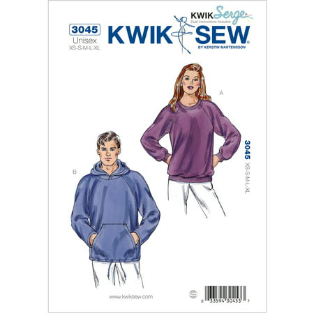 Kwik Sew Pattern Shirts, (XS, S, M, L, XL)