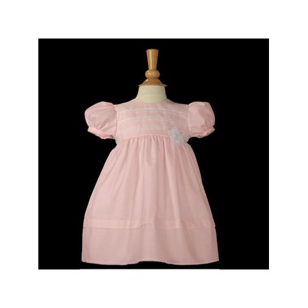 fac1ca31e Easter - Baby Girls Pink Organza Christening Baptism Dress Gown 3 ...