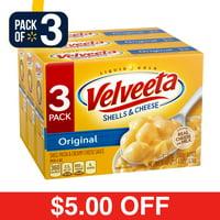 Velveeta Original Shells & Cheese, 3 ct - 36.0 Ounce Package