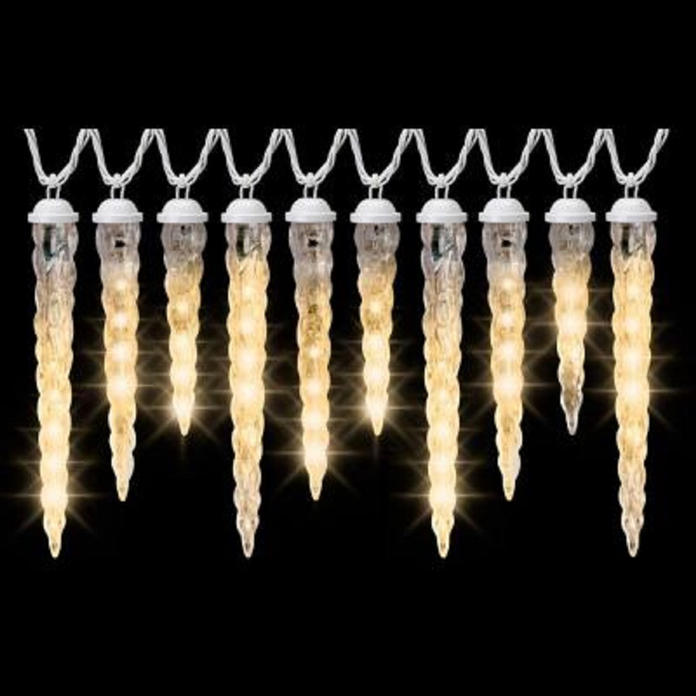 Gemmy LightShow Shooting Star Icicle Light String, Frozen...