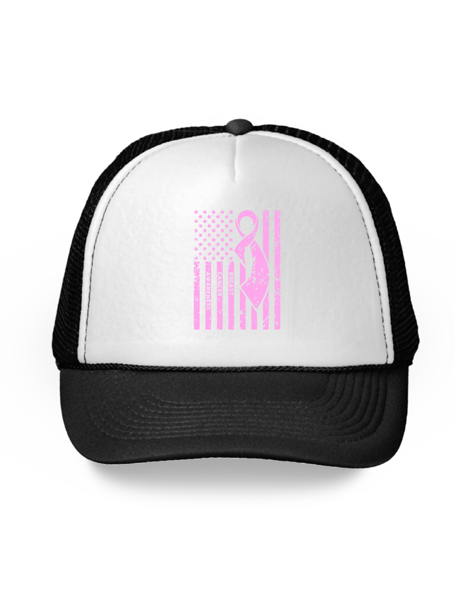 Awkward Styles - Awkward Styles Breast Cancer Awareness Hat Pink Ribbon  Trucker Hat for Men and Women Pink Cancer Support Flag Snapback Hat Gifts  for Cancer ... 961349e32edb