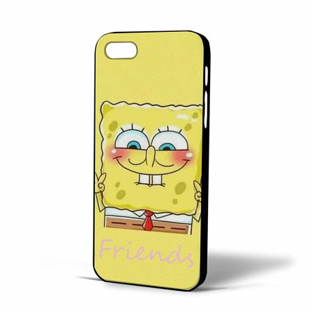 Ganma Cute Spongebob Best Friends Case For iPhone Case (Case For iPhone 6 plus