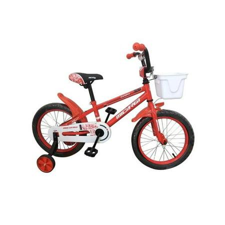 16' Boys Bmx Bicycle - Micargi JAKSTER-B-16-RD 16 in. Boys BMX Bicycle, Red