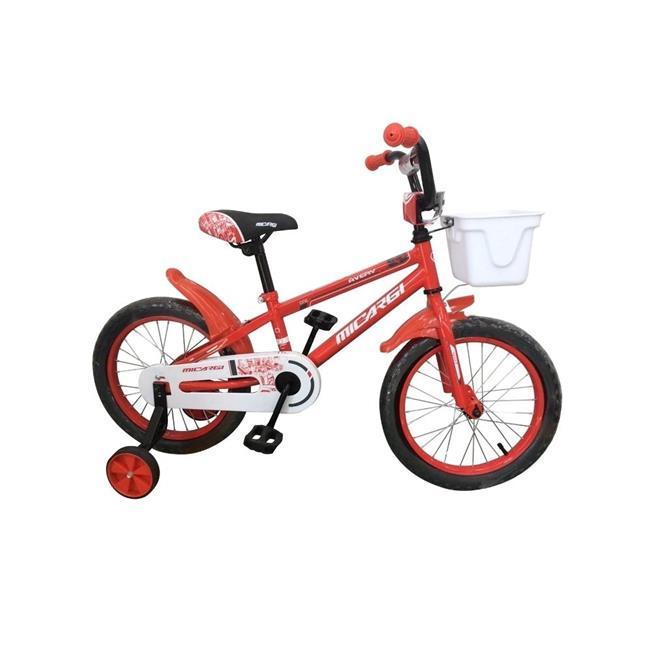 Micargi JAKSTER-B-16-RD 16 in. Boys BMX Bicycle, Red