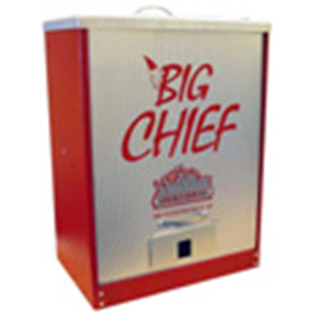 Smokehouse Products 9894-000-0RED Red Big Chief Front Load Smoker