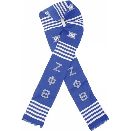 Zeta Phi Beta Sorority Graduation Kente Stole Sash [Blue - 72