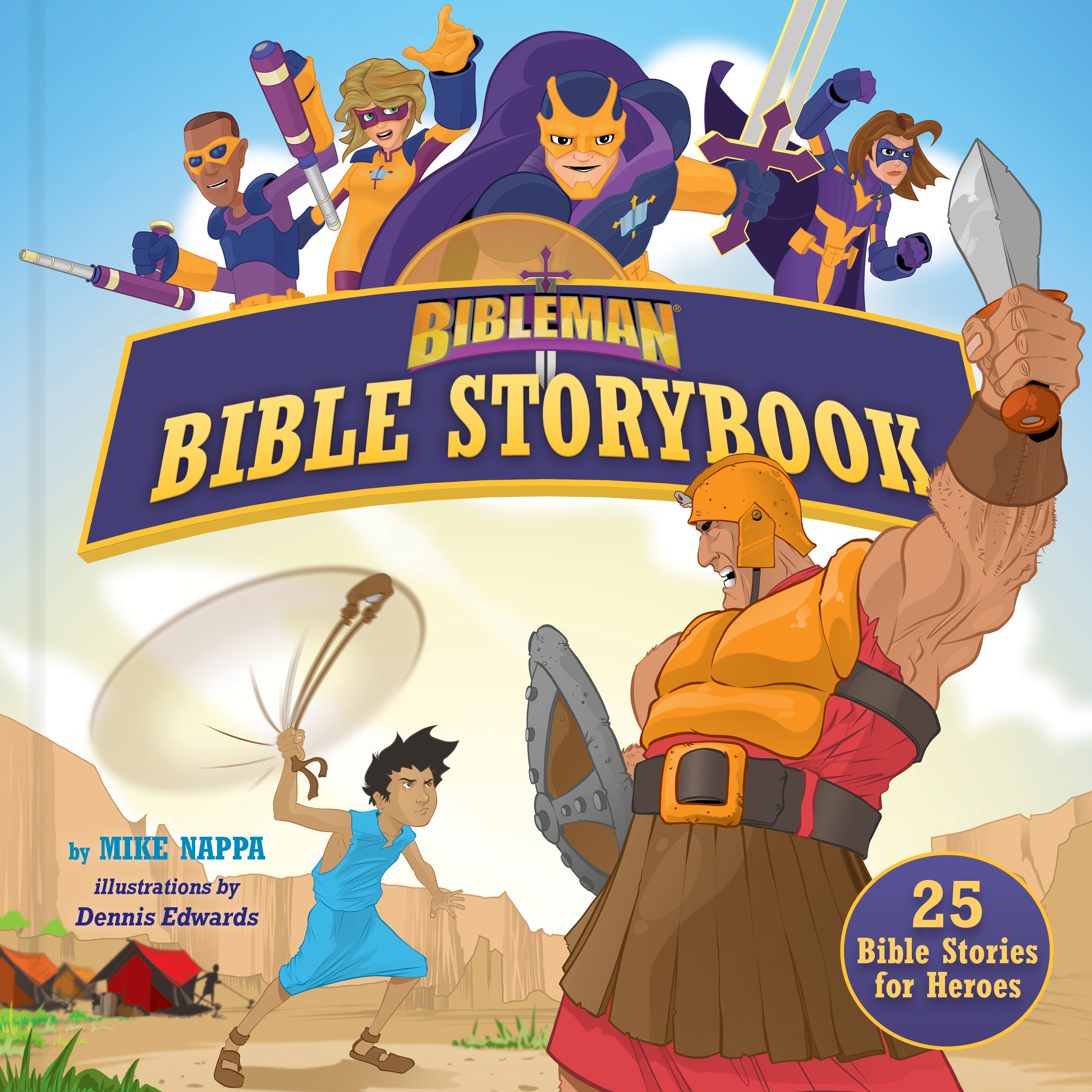 Bibleman Bible Storybook (Padded) : 25 Bible Stories for Heroes