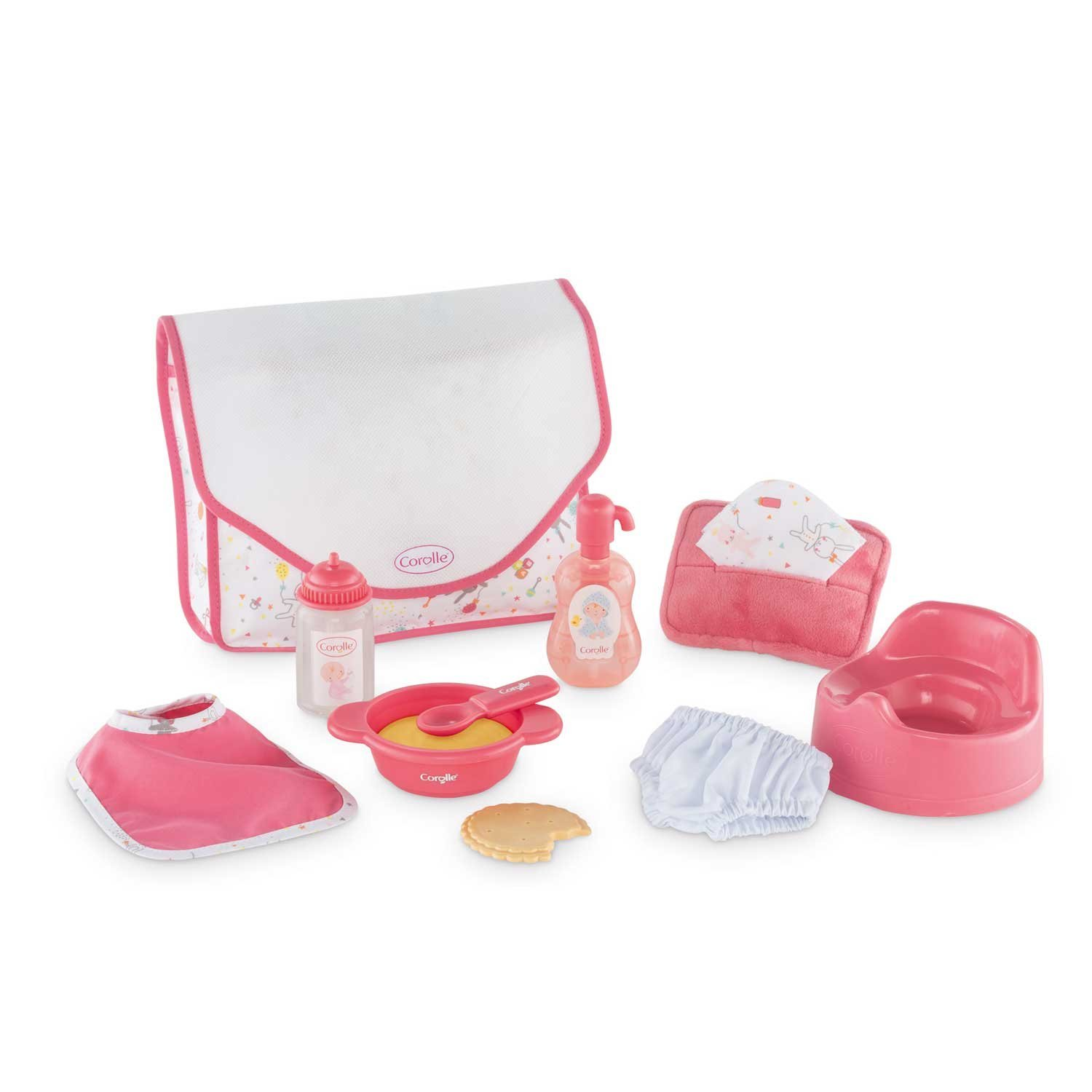 Mon Premier Large Accessories Set, Everything little ones need to take care of their baby doll By Corolle by
