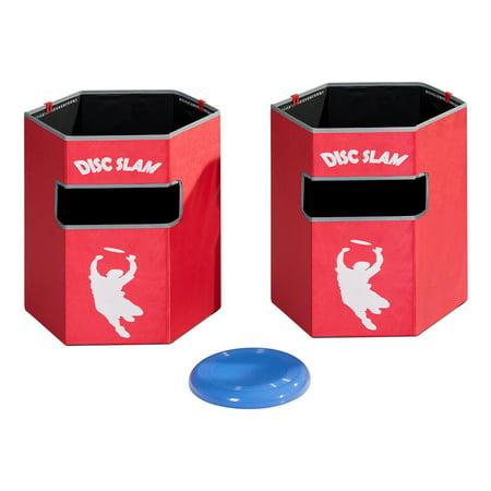 Folding Disc Slam Ball Game Family Party Beach Backyard Sports W/ Bag Waterproof