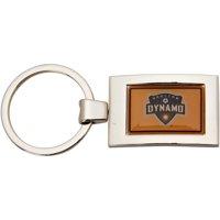 Houston Dynamo Arched Rectangle Keychain