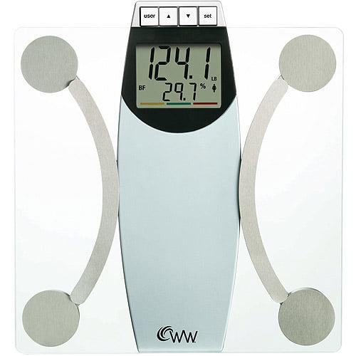 Weight Watchers Body Analysis Bath Scale