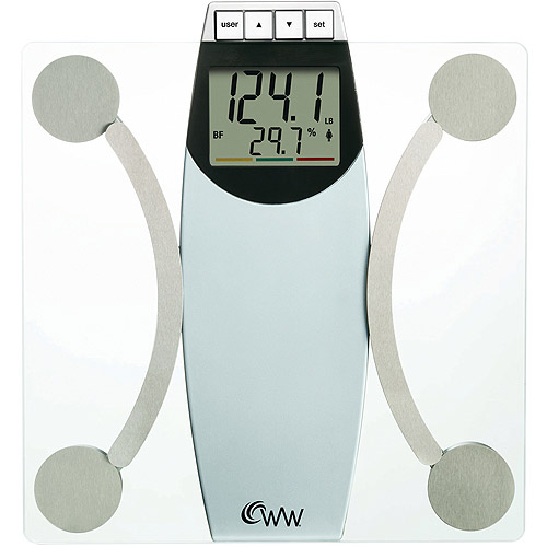 weight watchers body analysis bath scale - walmart