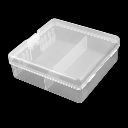 Hard Plastic Case Holder Storage Box Container for 100 x AA Battery - image 2 de 6
