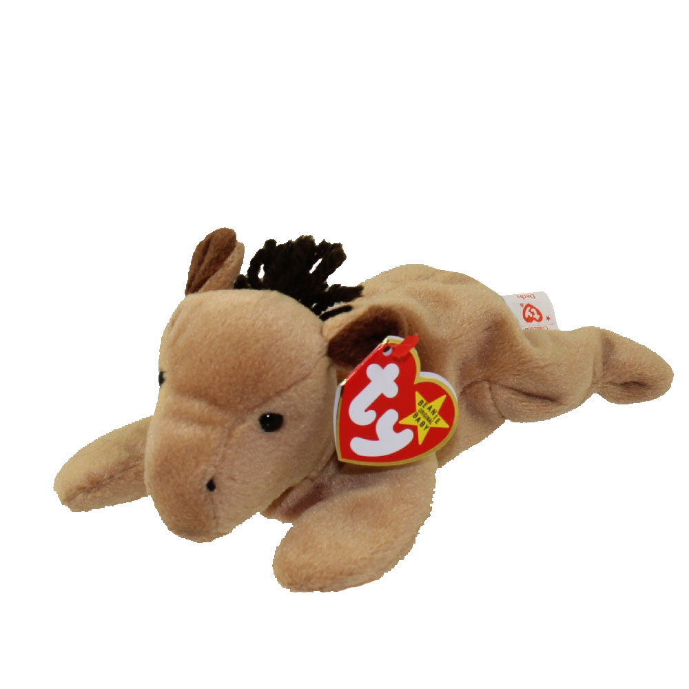 TY BEANIE BABIES-DERBY THE HORSE-NEW!